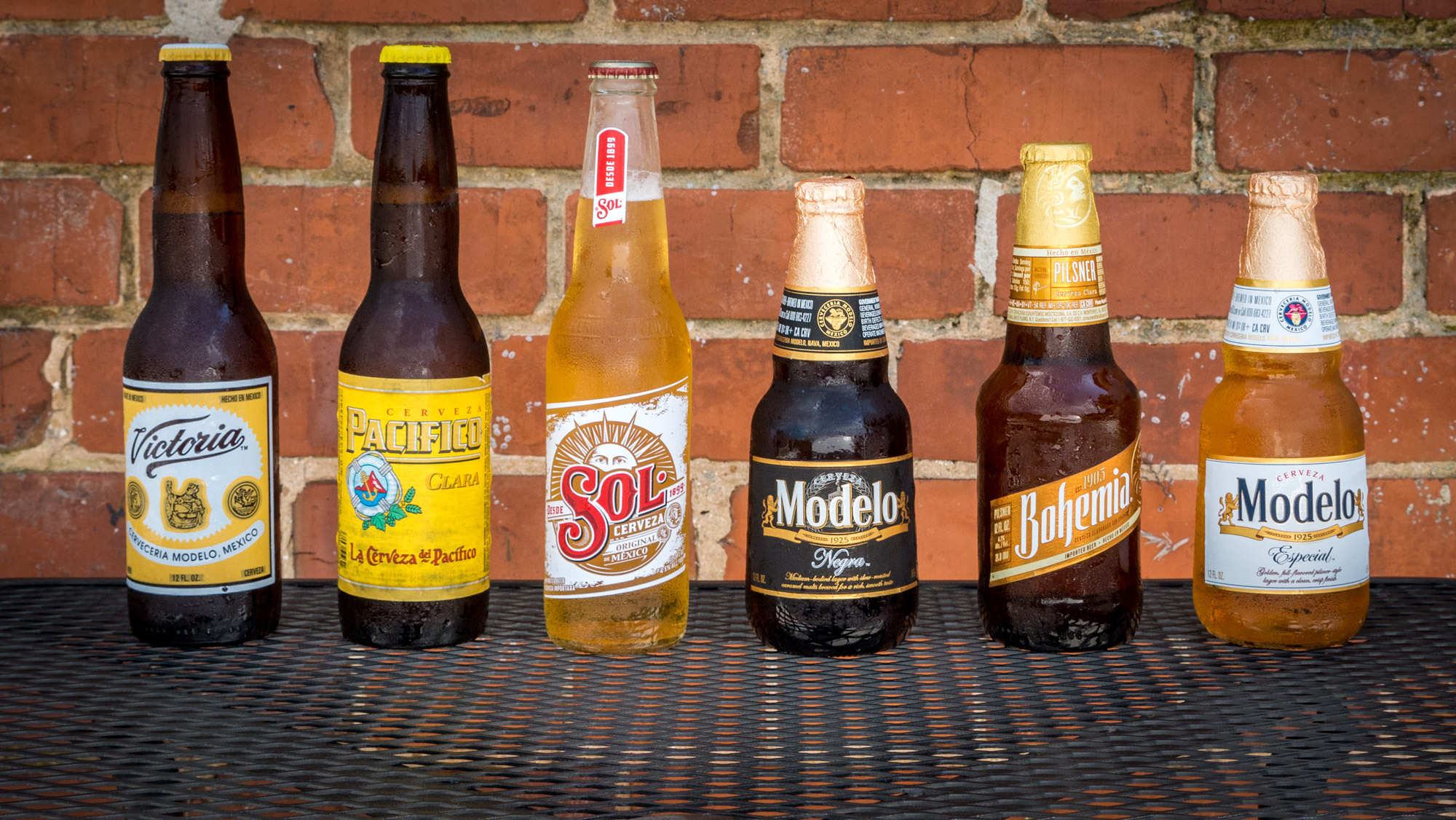 Selection of Imported beers outdoor seating mexican restaurant dalton, ga